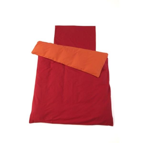 Jollein Overtrek Oranje/Rood 70x100cm
