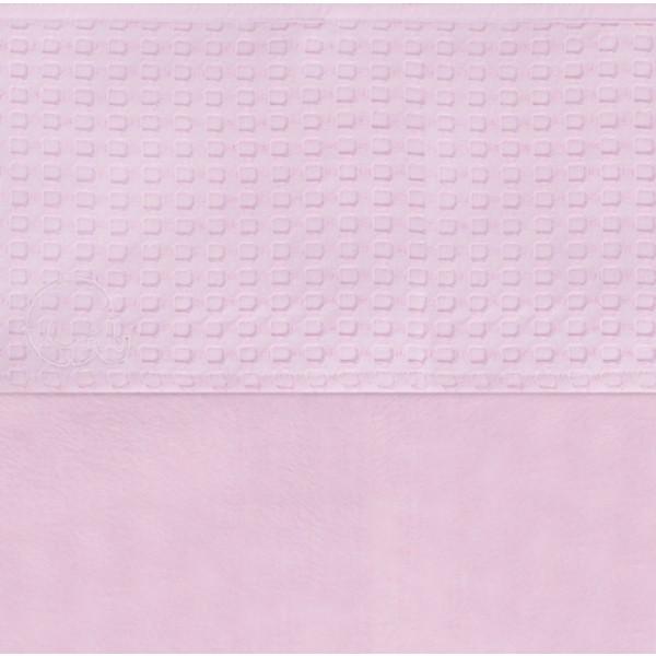 Jollein Laken 75x100cm Waffle pink