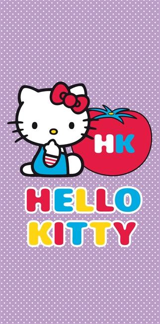 Strandlaken Hello Kitty Tomaat