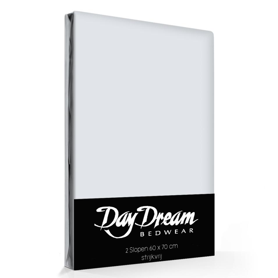 2 Stuks Kussenslopen Day Dream Lichtgrijs (katoen)