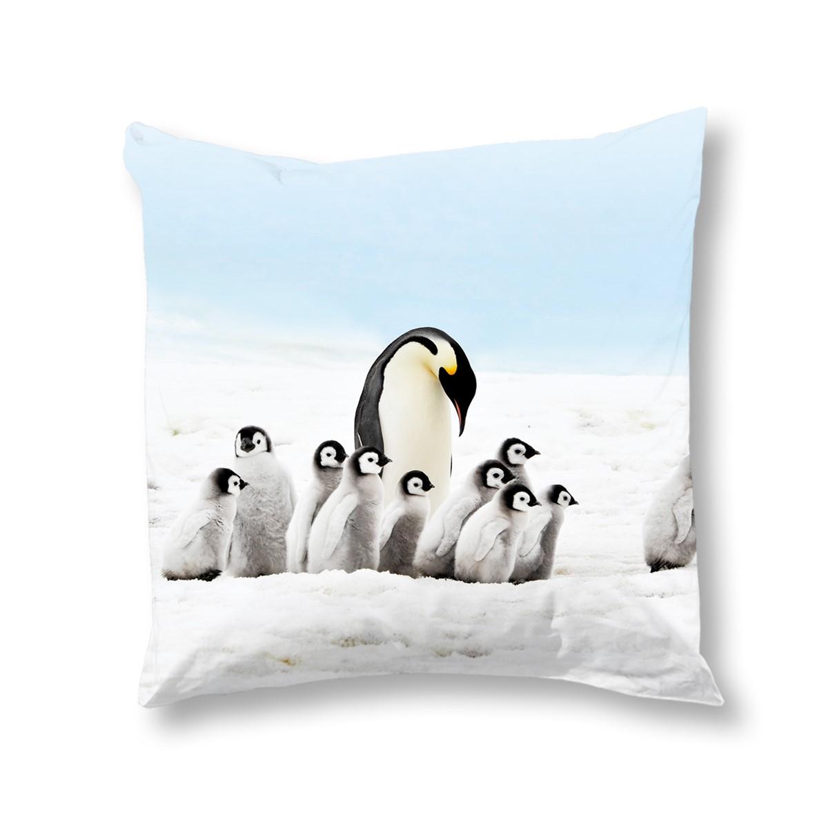 Goodmorning Kussenhoes Pinguins 50x50 cm