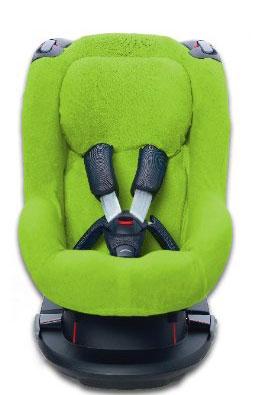 Autostoelhoes voor de Maxi Cosi Tobi Lime 1+Rug