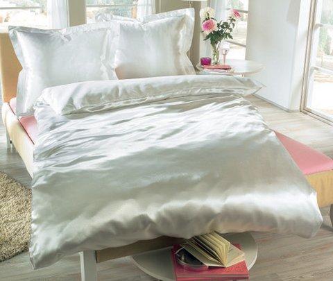 Royal Textile Dekbedovertrek Glans Satijn Wit aanbieding