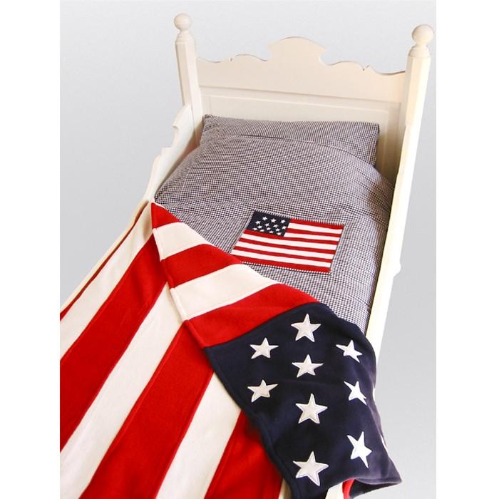 Taftan Sprei Amerikaanse Vlag 170x230cm