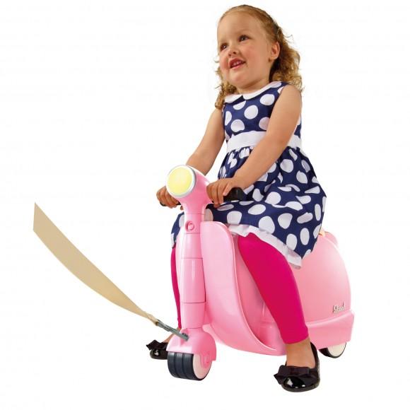 Skoot Kinderkoffer-Loopfiets Roze