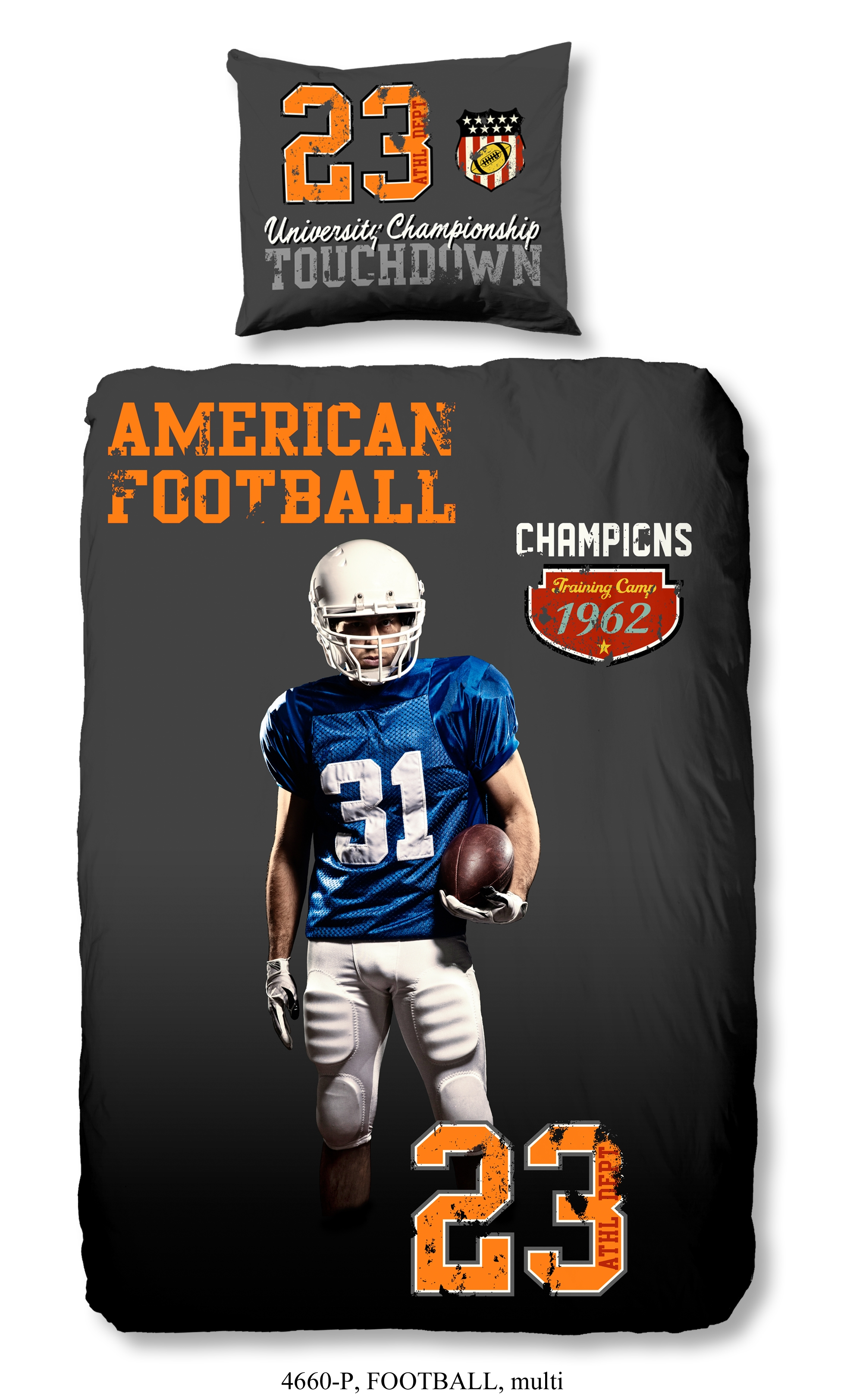 Dekbedovertrek American Football