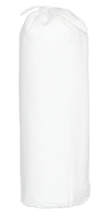 Taftan Hoeslaken Uni Wit 90x200cm