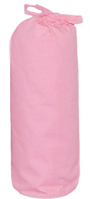 Taftan Hoeslaken Uni Roze 90x200cm