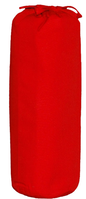 Taftan Hoeslaken Uni Rood 90x200cm