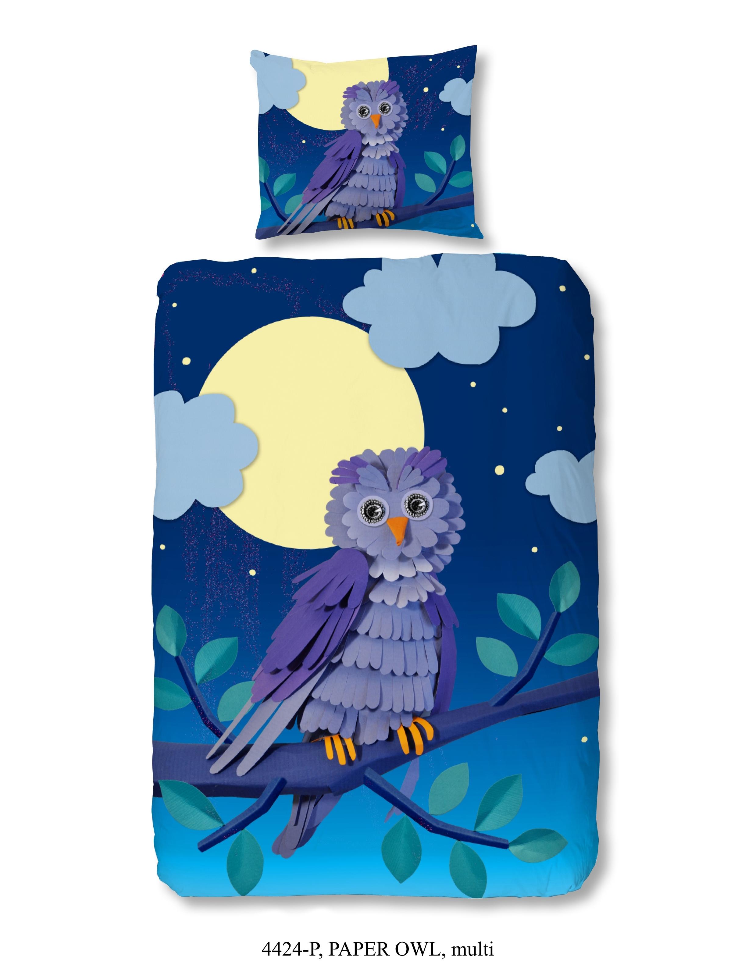 Dekbedovertrek Paper Owl