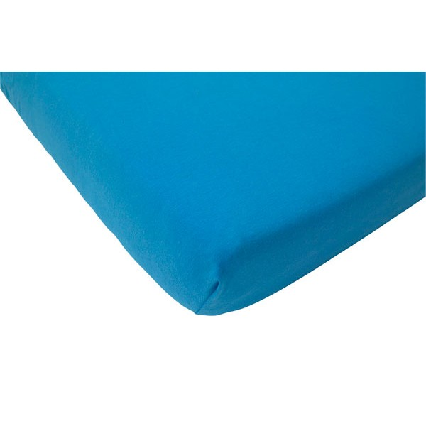 Jollein Hoeslaken Katoen 75x150cm Turquoise