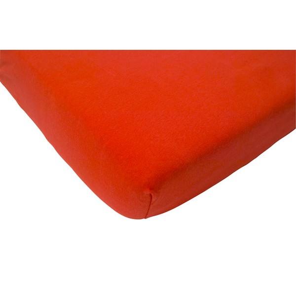 Jollein Hoeslaken Jersey 75x150cm rood