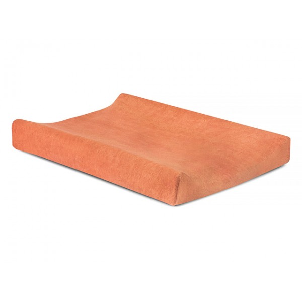 Waskussenhoes badstof 50x70cm soft orange