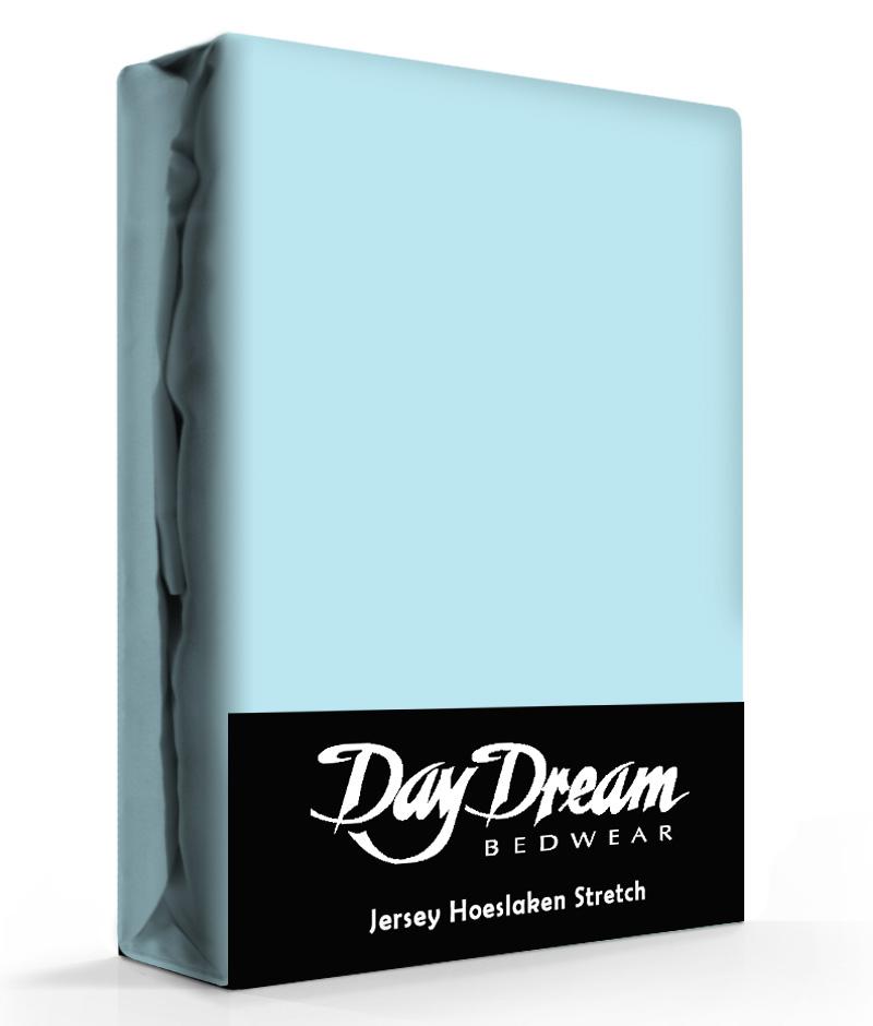 Day Dream Jersey Hoeslaken Ice-Blue-90 x 200 cm