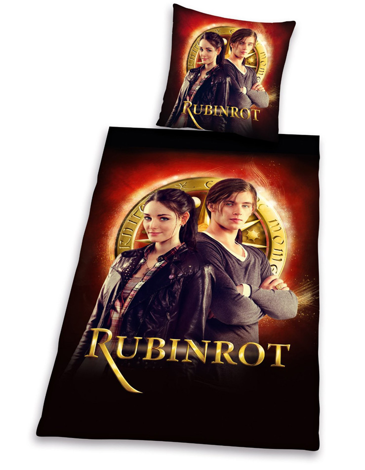Dekbedovertrek Rubinrot