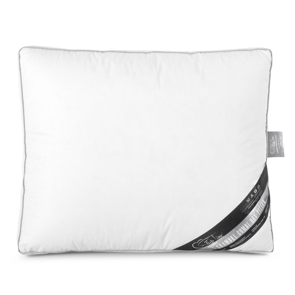 Sleeptime Hoofdkussen 3 Chamber Box Pillow White