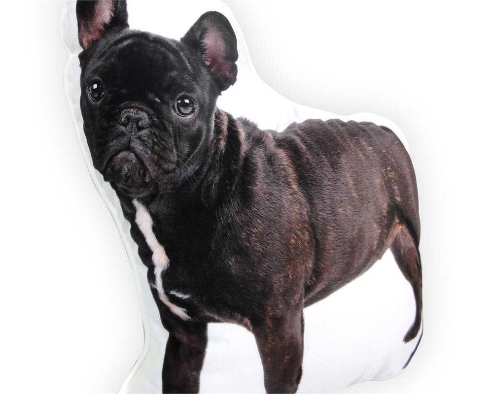 Intimo Sierkussen French Bulldog Black