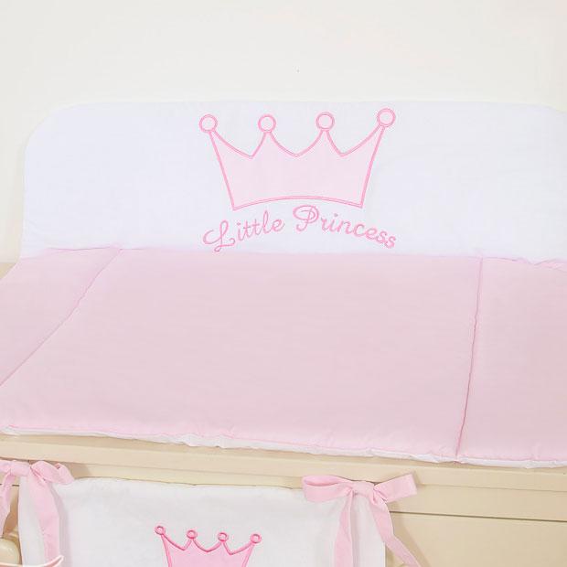 My Sweet Baby Aankleedkussen Little Princess Roze