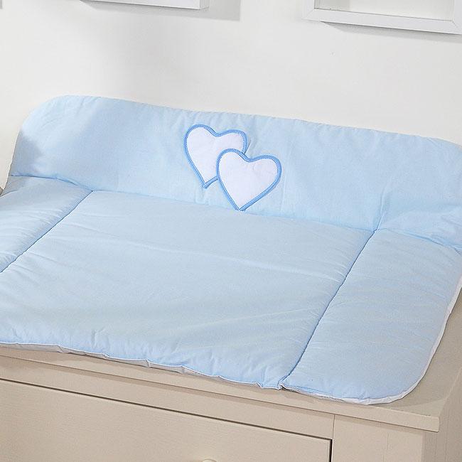 My Sweet Baby Aankleedkussen Two Hearts Blauw