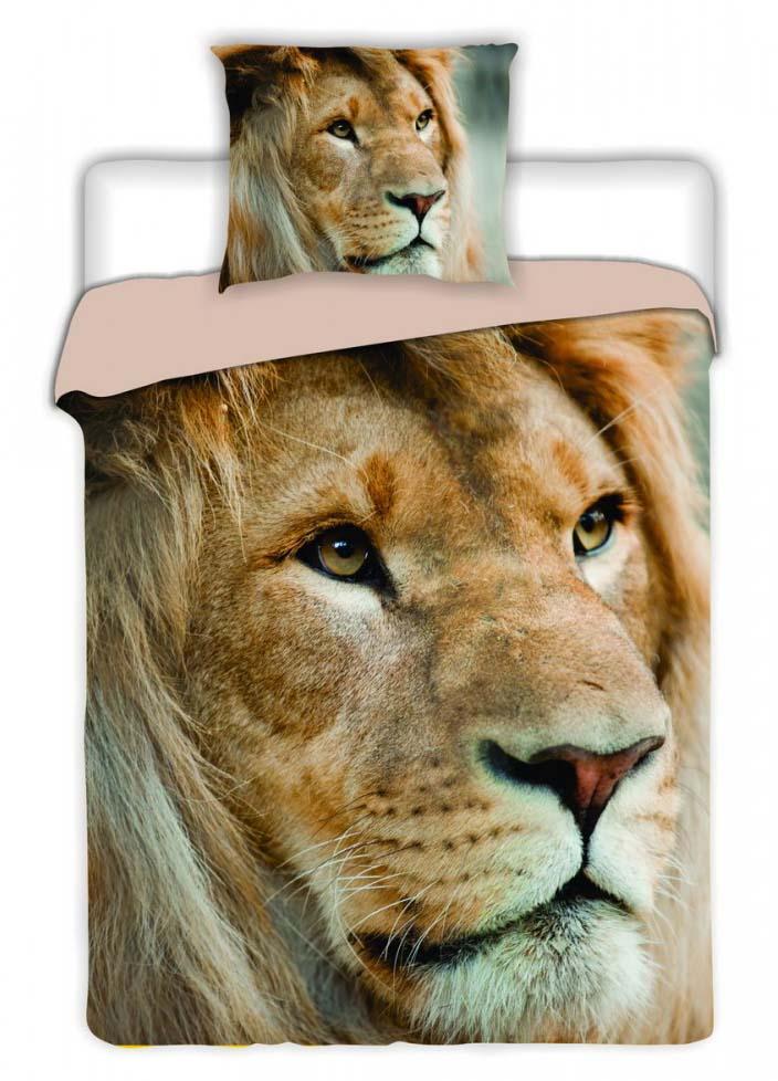 Dekbedovertrek Afrikaanse Leeuw