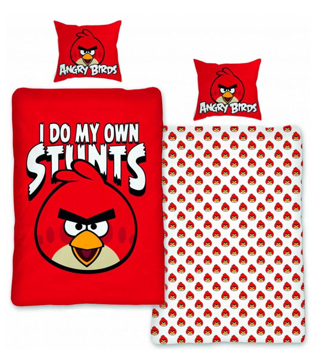 Angry Birds Dekbed Stunt