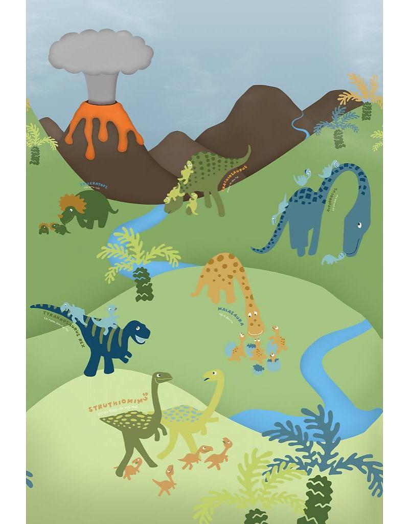 Dino Fotobehang 232 x 158 cm (Wallpaper)