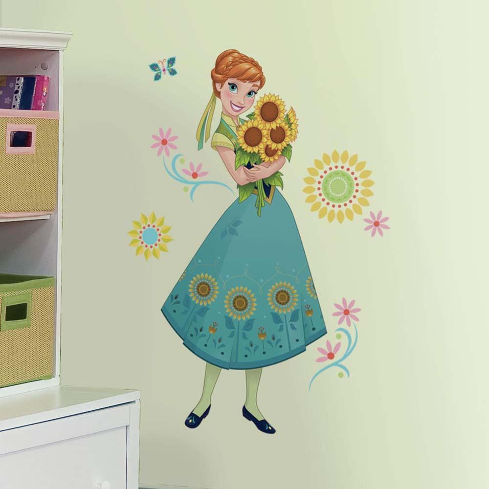 Frozen Muurstickers Anna (RoomMates)