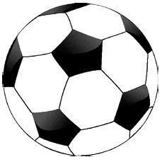 Vloerkleed Voetbal Ø 80 cm
