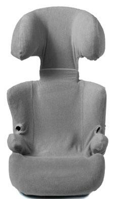Autostoelhoes Groep 2/3+ Grijs