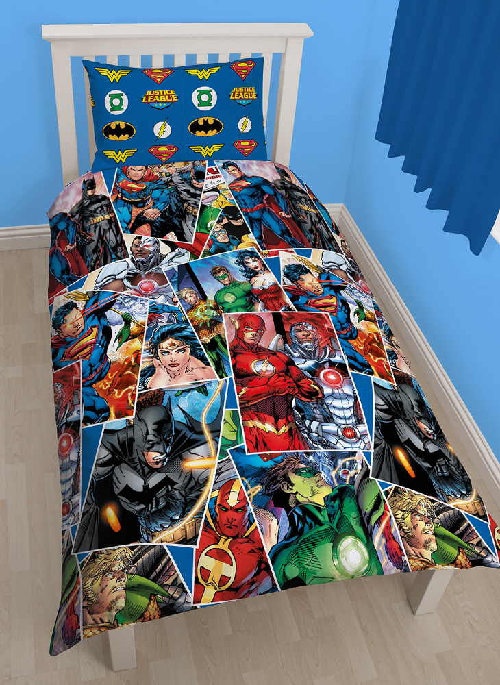 Marvel Comic Justice League Dekbed