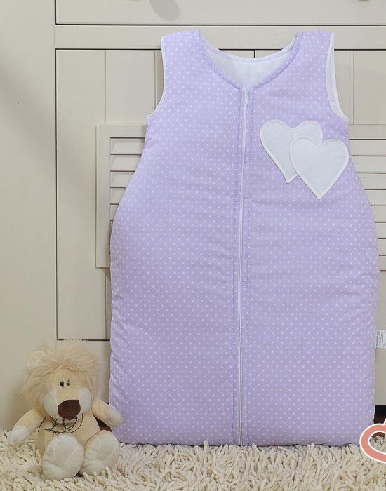 My Sweet Baby Slaapzak Two Hearts Paars
