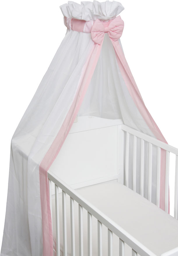 Baby Sluier Strik Roze