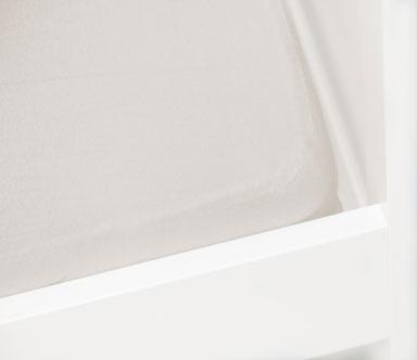 Briljant Hoeslaken Off-White 60x120cm (katoen)