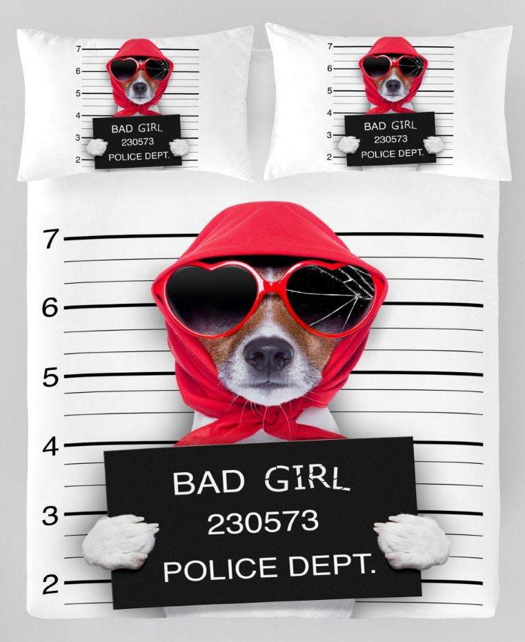 Bad Girl Dekbedovertrek by ZaZa Bedding