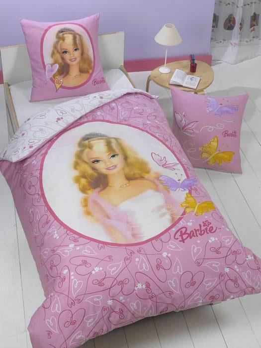 Meisjes Dekbedovertrek Barbie Elegance