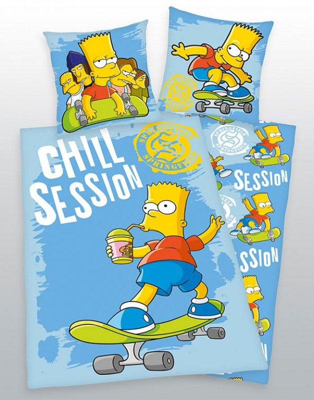 Bart Simpson Dekbedovertrek Chill