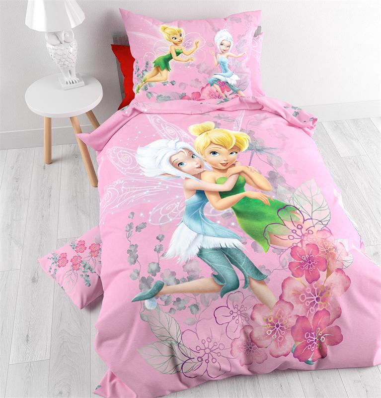 Tinkerbell Disney Dekbedovertrek Pink