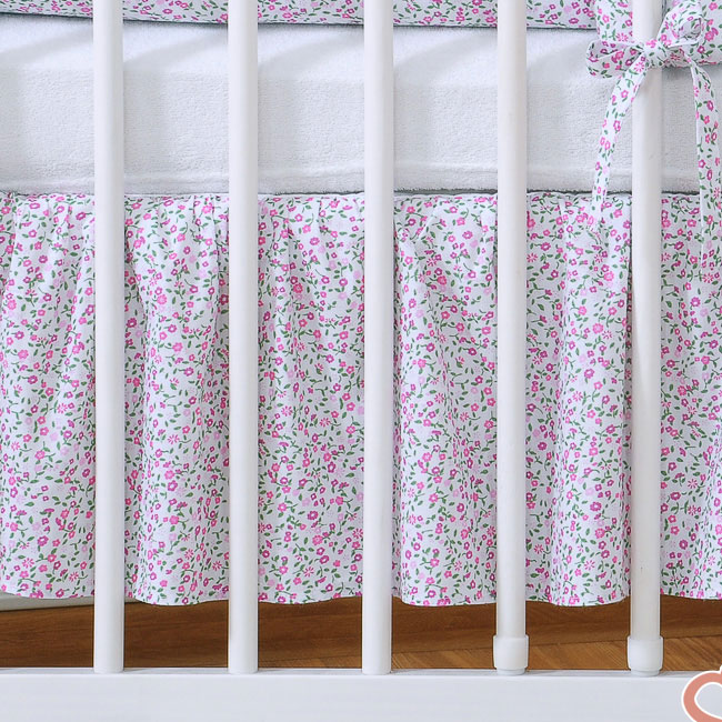 My Sweet Baby Bedrok Bloem/Roze 60x120cm