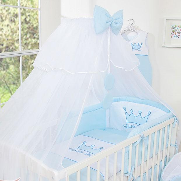 3 Delig Bedset Little Prince Voile Blauw