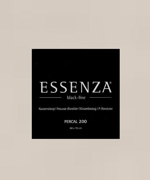 Essenza Kussensloop Percal Beige (1 stuk)