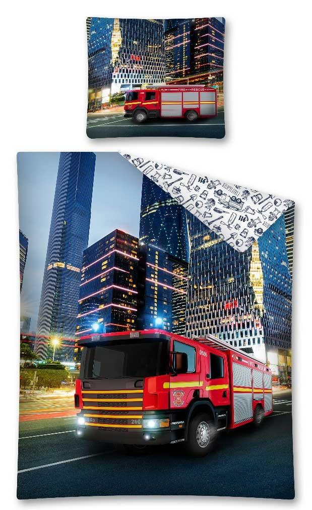Brandweer Dekbedovertrek Fire