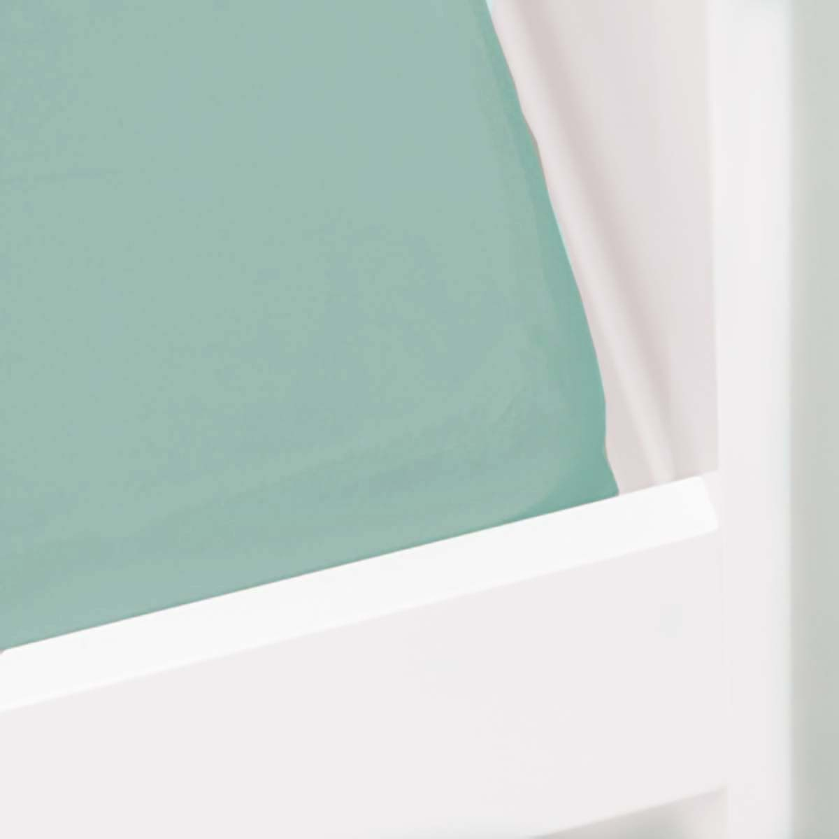 Briljant Hoeslaken Jade 40x80cm (katoen)