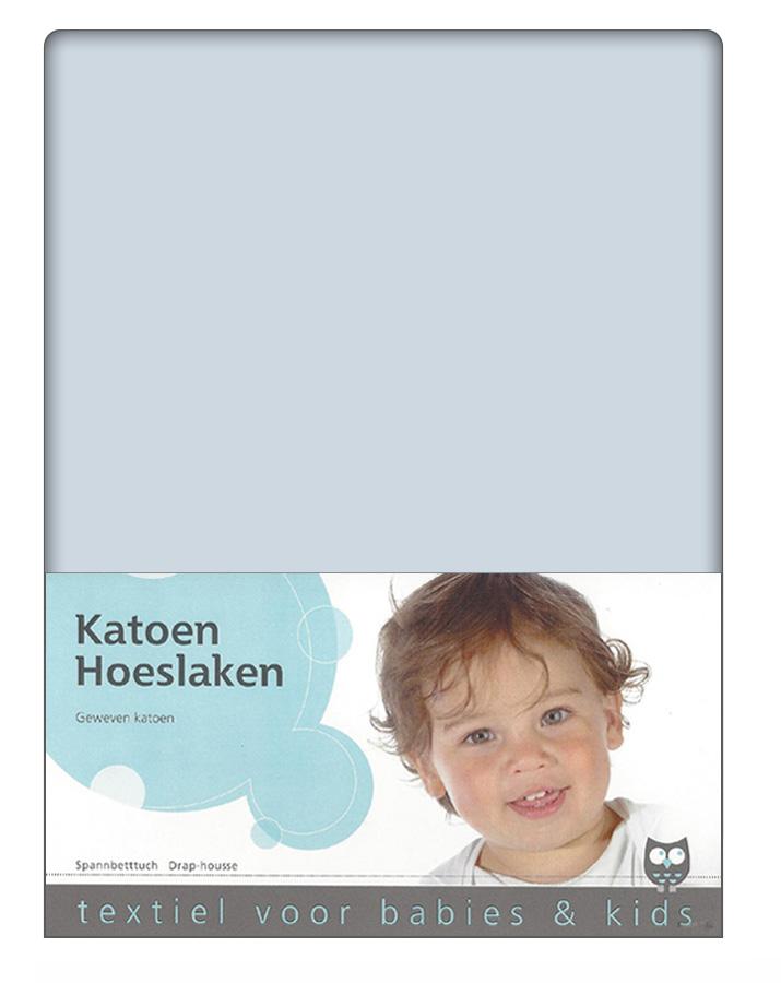 Briljant Hoeslaken Hemel 60x120cm (katoen)