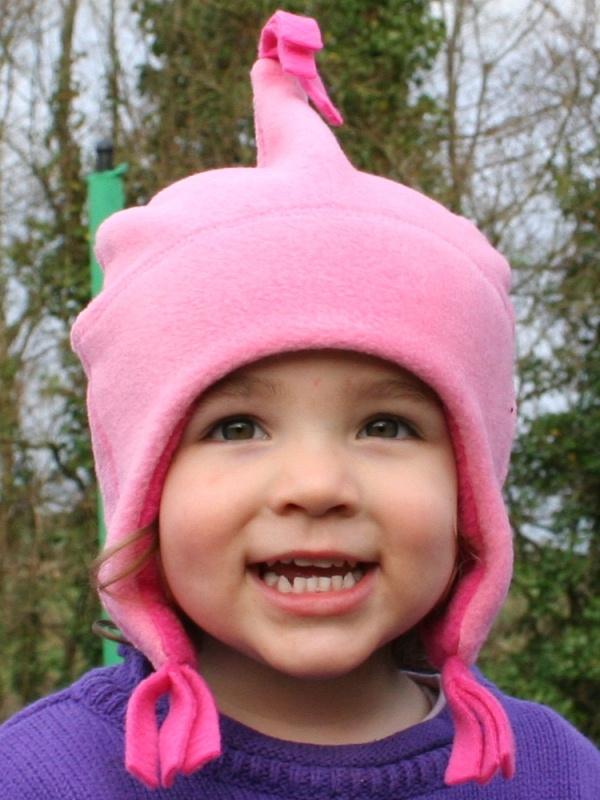Buggy Snuggle Kindermuts Fleece Roze M