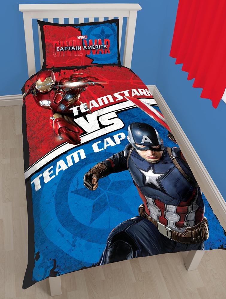 Captain America Dekbedovertrek