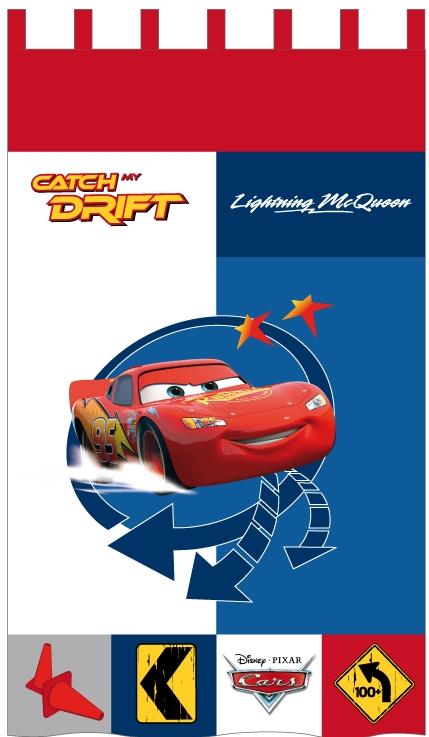 Cars Catch my Drift Gordijn