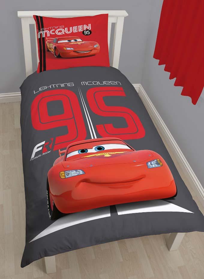 Cars Dekbedovertrek Formula 95