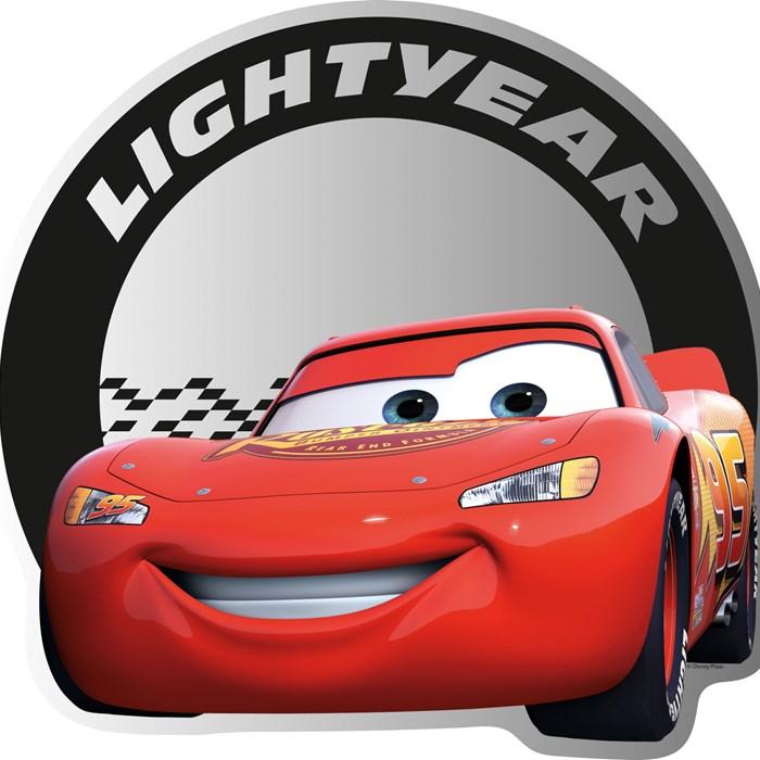 Cars Decoratie Plexi Spiegel Rood
