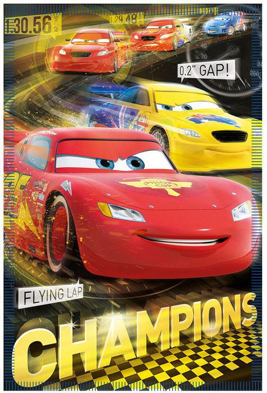 Cars Plaid Champion 100x140cm