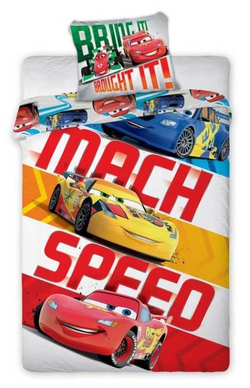 Cars 2 Dekbedovertrek Mach Speed